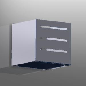 plafoniera cubo 150