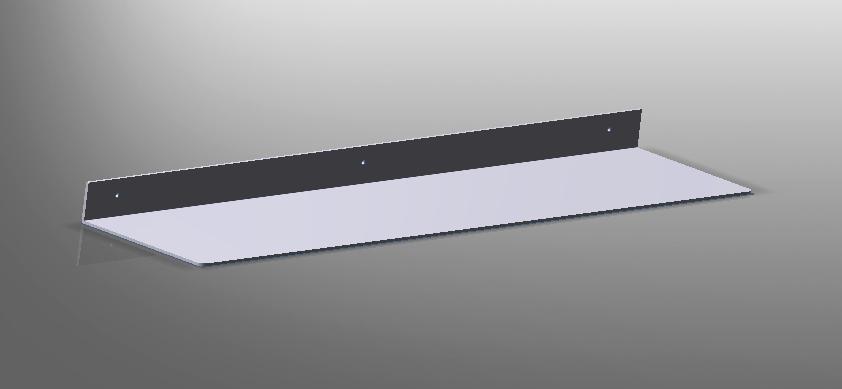 Mensola alluminio styleinox for Mensole alluminio