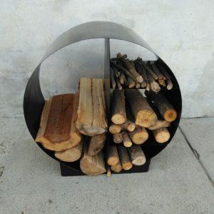 porta legna cerchio