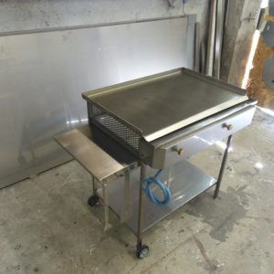 piastra inox barbecue